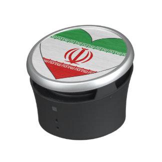 Iran Flag Heart Speaker