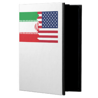 Iranian American Flag Cover For iPad Air