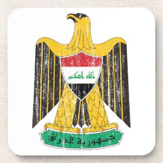 Iraq Coat Of Arms Coaster