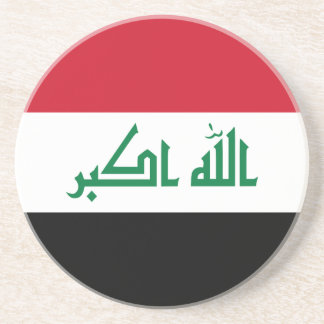 Iraq Flag Coaster