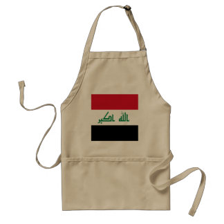 Iraq Flag Standard Apron