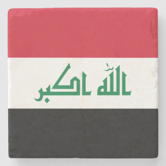 Iraq Flag Stone Coaster