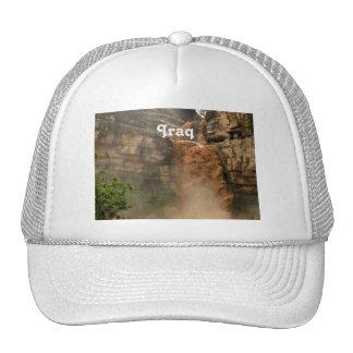 Iraq Waterfall Trucker Hats