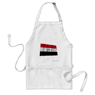 Iraq Waving Flag Standard Apron