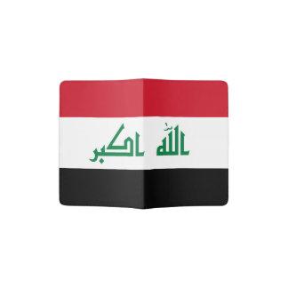 Iraqi flag passport holder
