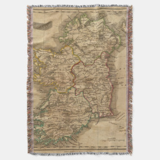 Ireland 4 throw blanket