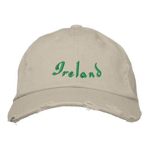 Ireland Embroidered Baseball Caps