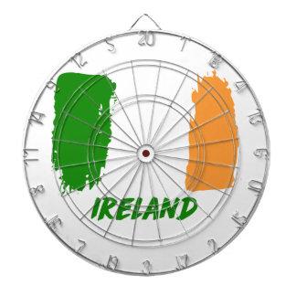 Ireland flag design dartboard