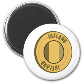 Ireland Flag Gold Coin Magnet