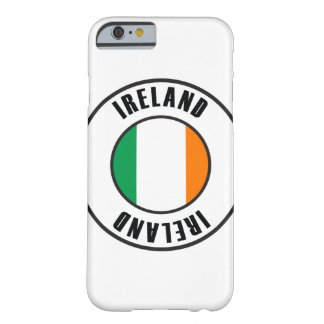 Ireland Flag Simple Dark Barely There iPhone 6 Case