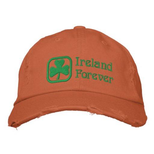 Ireland Forever Embroidered Baseball Cap