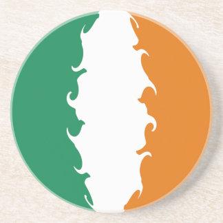 Ireland Gnarly Flag Sandstone Coaster