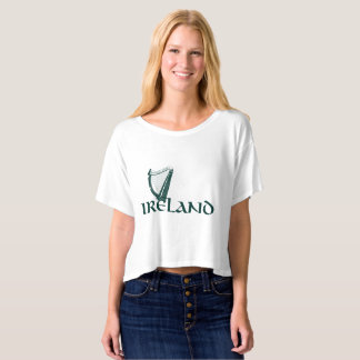 Ireland Harp Design, Irish Harp T-Shirt