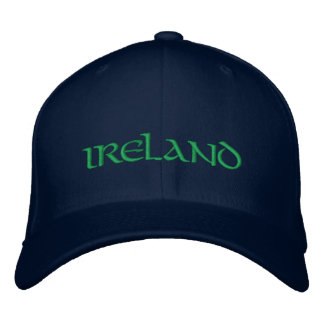 Ireland Hat Embroidered Cap