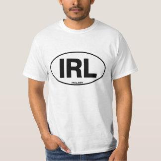 Ireland IRL Oval ID Identification Code Initials T-Shirt