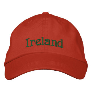 IRELAND Name Designer Cap Embroidered Hat