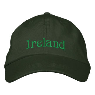 IRELAND Name Designer Cap Embroidered Baseball Caps