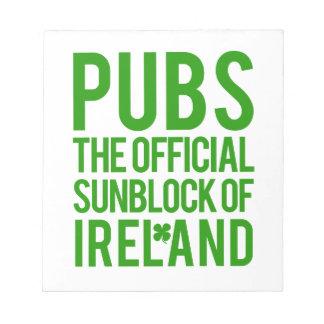 Ireland Notepad