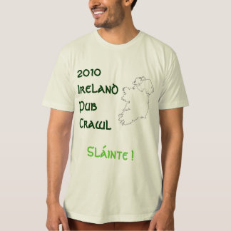 Ireland Pub Crawl Tshirt