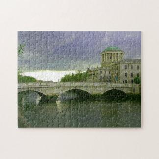 Ireland River Bridge Scenic Photo Jigsaw Puzzle