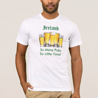 Ireland So Many Pubs T-Shirt
