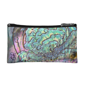 Iridescent Natural Jewel Abalone Mother of Pearl Makeup Bags