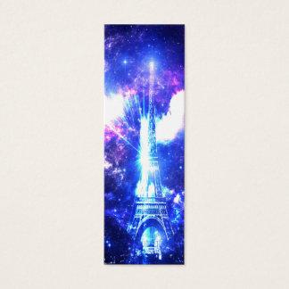 Iridescent Parisian Sky Mini Business Card