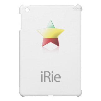iRie Rasta Star on White (iPad case) Case For The iPad Mini