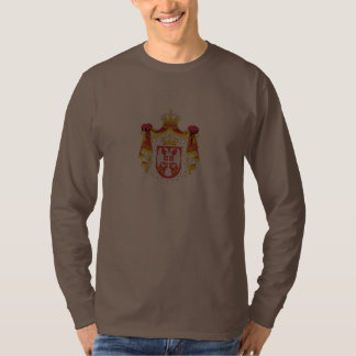 Irig, Serbia with coat of arms Shirts