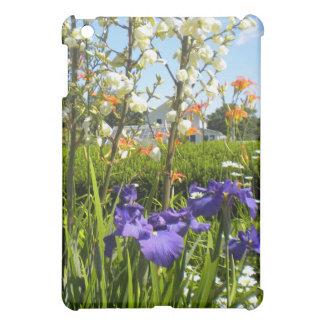 Iris and daylillies iPad case