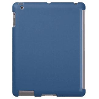 Iris Blue in an English Country Garden iPad Case