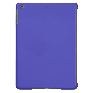 IRIS BLUE (solid flowery color) ~ iPad Air Cases