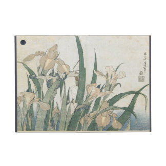 Iris Flowers and Grasshopper, c.1830-31 Cover For iPad Mini
