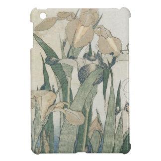 Iris Flowers and Grasshopper, c.1830-31 iPad Mini Cover