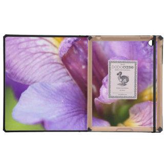 iris flowers mf iPad folio case
