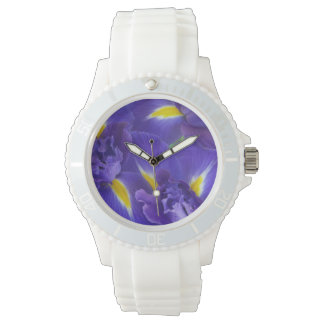 Iris flowers watch
