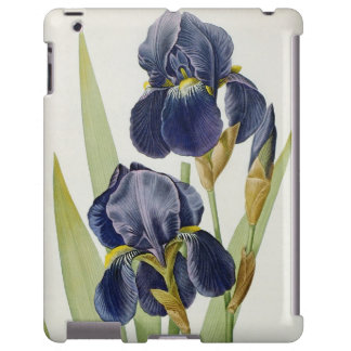 Iris Germanica, from `Les Liliacees', 1805 iPad Case
