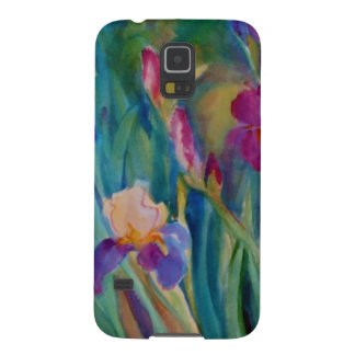 Iris in Watercolor by Sue Ann Jackson Galaxy S5 Cover