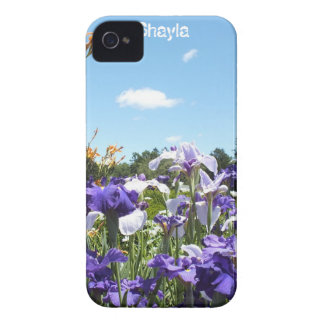 Irises and Sky Blackberry Bold case *Personalize*