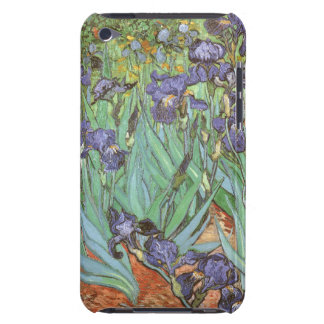 Irises by Vincent van Gogh, Vintage Flowers Art iPod Case-Mate Case