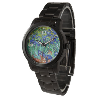 Irises By Vincent Van Gogh Wrist Watch