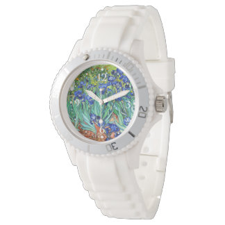 Irises By Vincent Van Gogh Wristwatches
