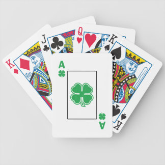 Irish Ace Bicycle Playing Cards