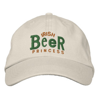 Irish Beer Girl  Embroidery Hat Embroidered Baseball Caps