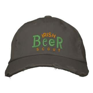 Irish Beer Scout Embroidery Hat Embroidered Hats