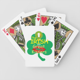 IRISH BICYCLE PLAYING CARDS