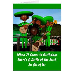 Irish birthday cards invitations zazzle irish birthday card m4hsunfo Gallery