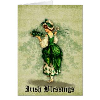 Irish Blessings Greeting Card