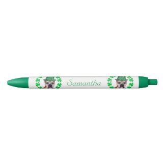 Irish Boxer dog personalized pen
