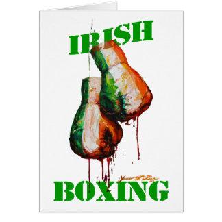 Irish Boxing Pride Greeting Card